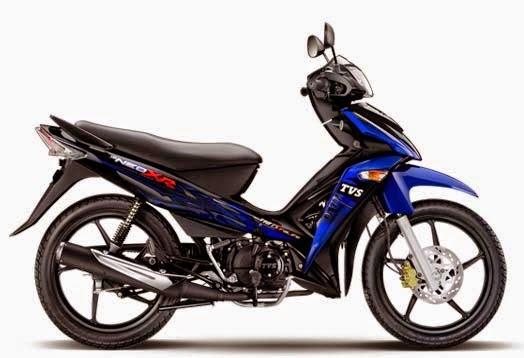 TVS Neo XR Blue