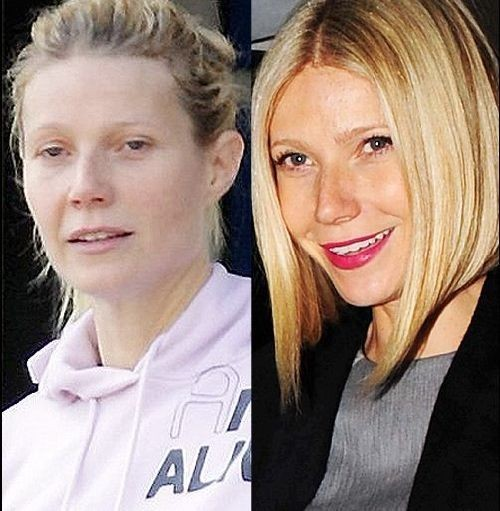 Gwyneth Paltrow sans maquillage