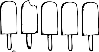 Ice Cream Clip Art Coloring Pages