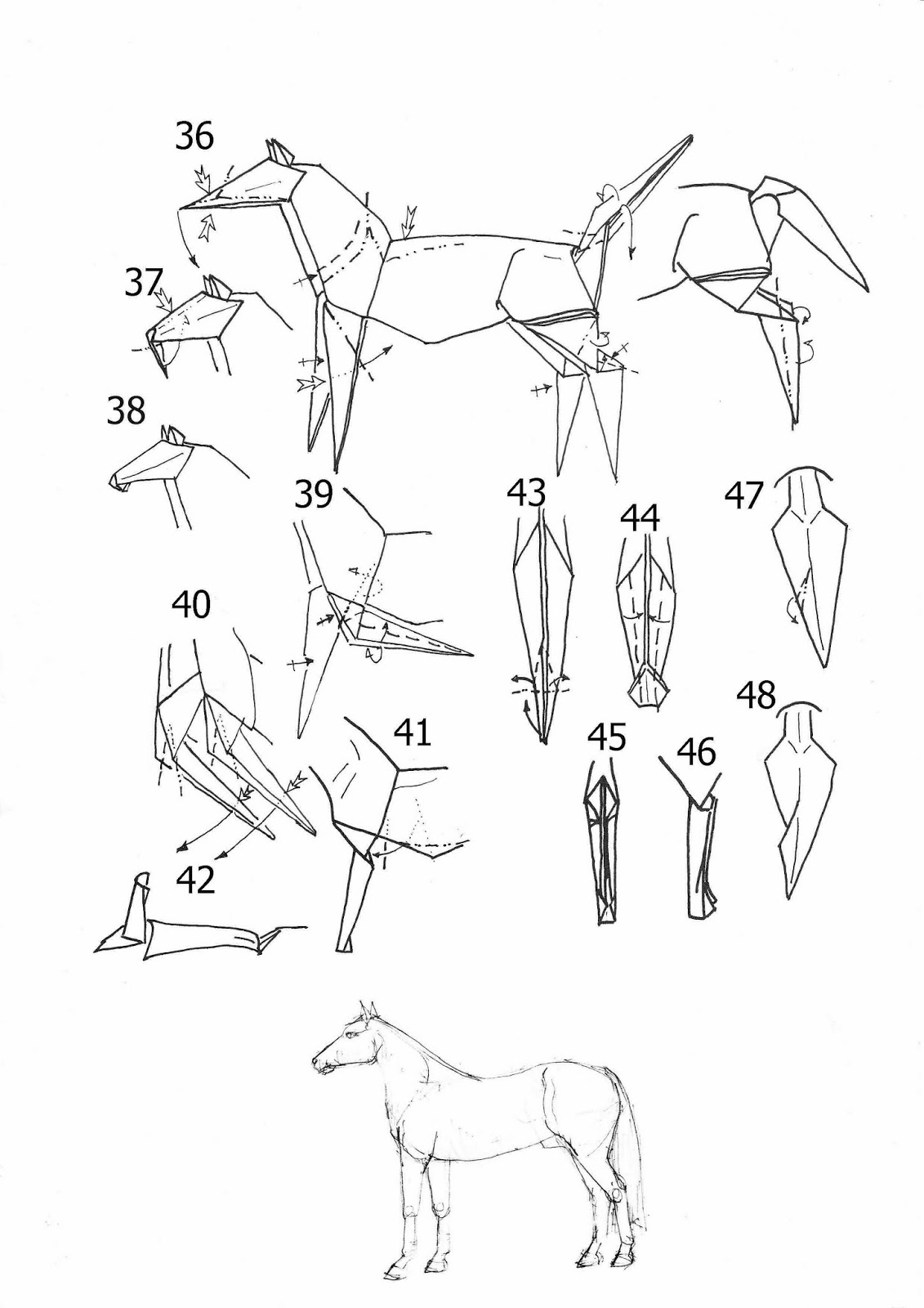 85 Origami Cloud Instructions 18 Best Images On Pinterest Mouse Diagram Embroidery 3d Folding