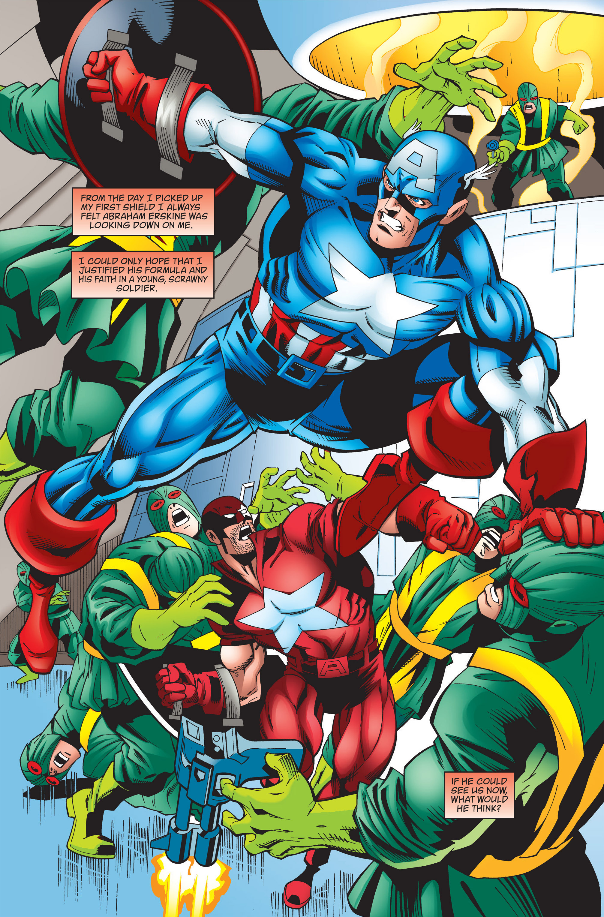 Captain America (1998) Issue #37 #44 - English 19
