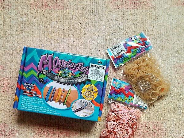 New DIY tool: Monster Tail Rainbow Loom