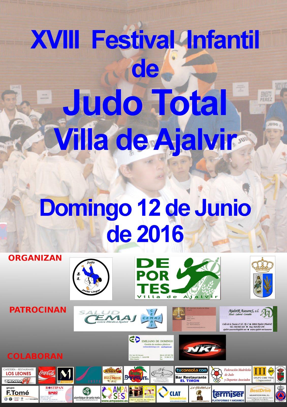 XVIII FESTIVAL DE YUDO INFANTIL VILLA DE AJALVIR 2016
