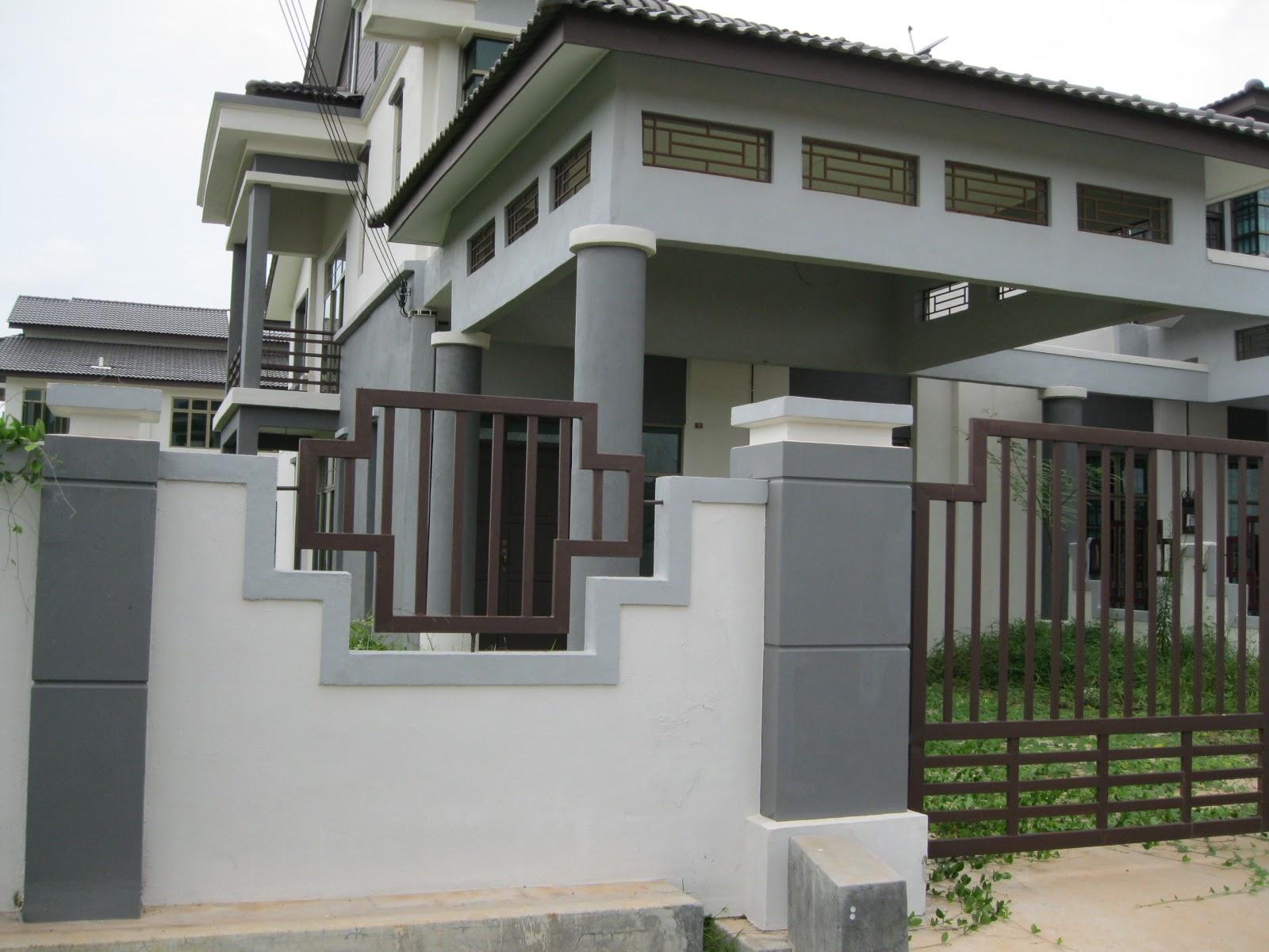 MELAKA NEWLY BUILT Double storey Terrace House CORNER LOT >> FOR SALE