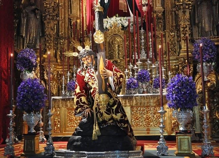 Besamanos Santísimo Cristo de las Tres Caídas Sevilla 2015