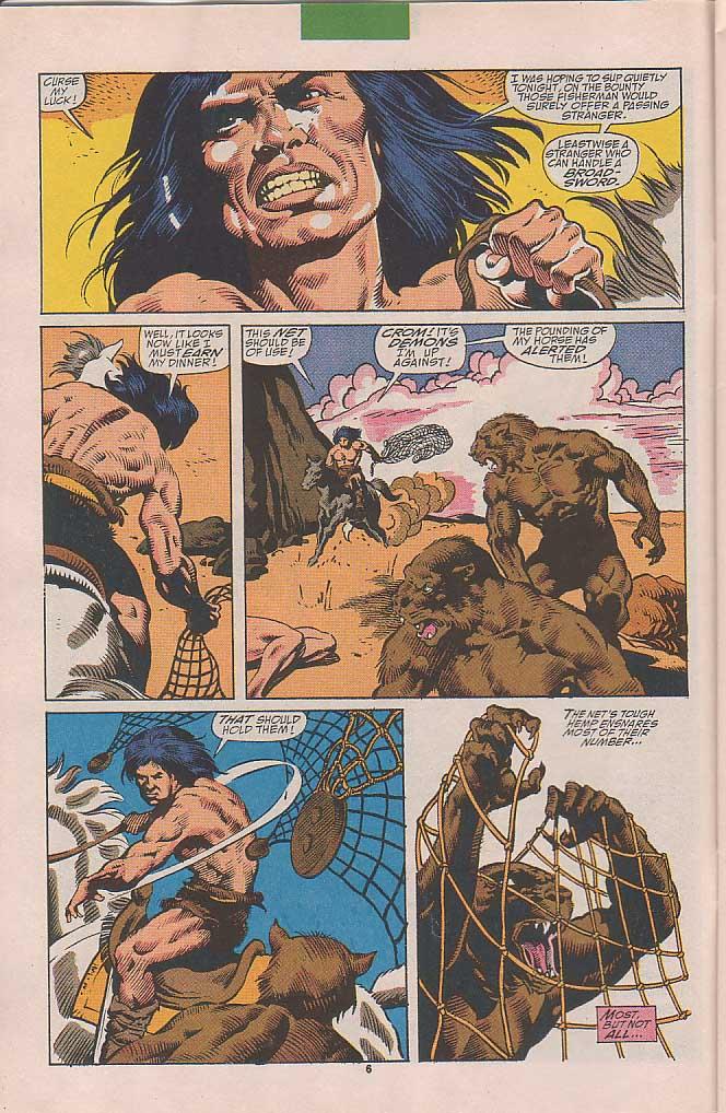 Conan the Barbarian (1970) Issue #251 #263 - English 6