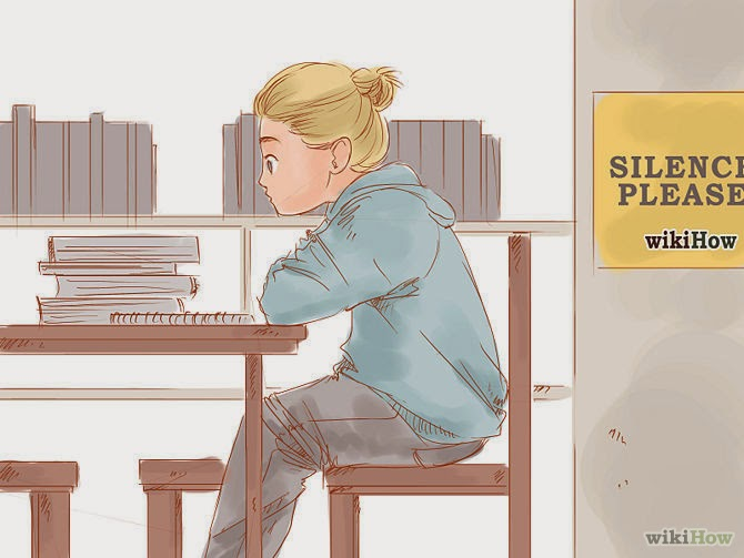 studying hard for the exams credits to: wikihow.com