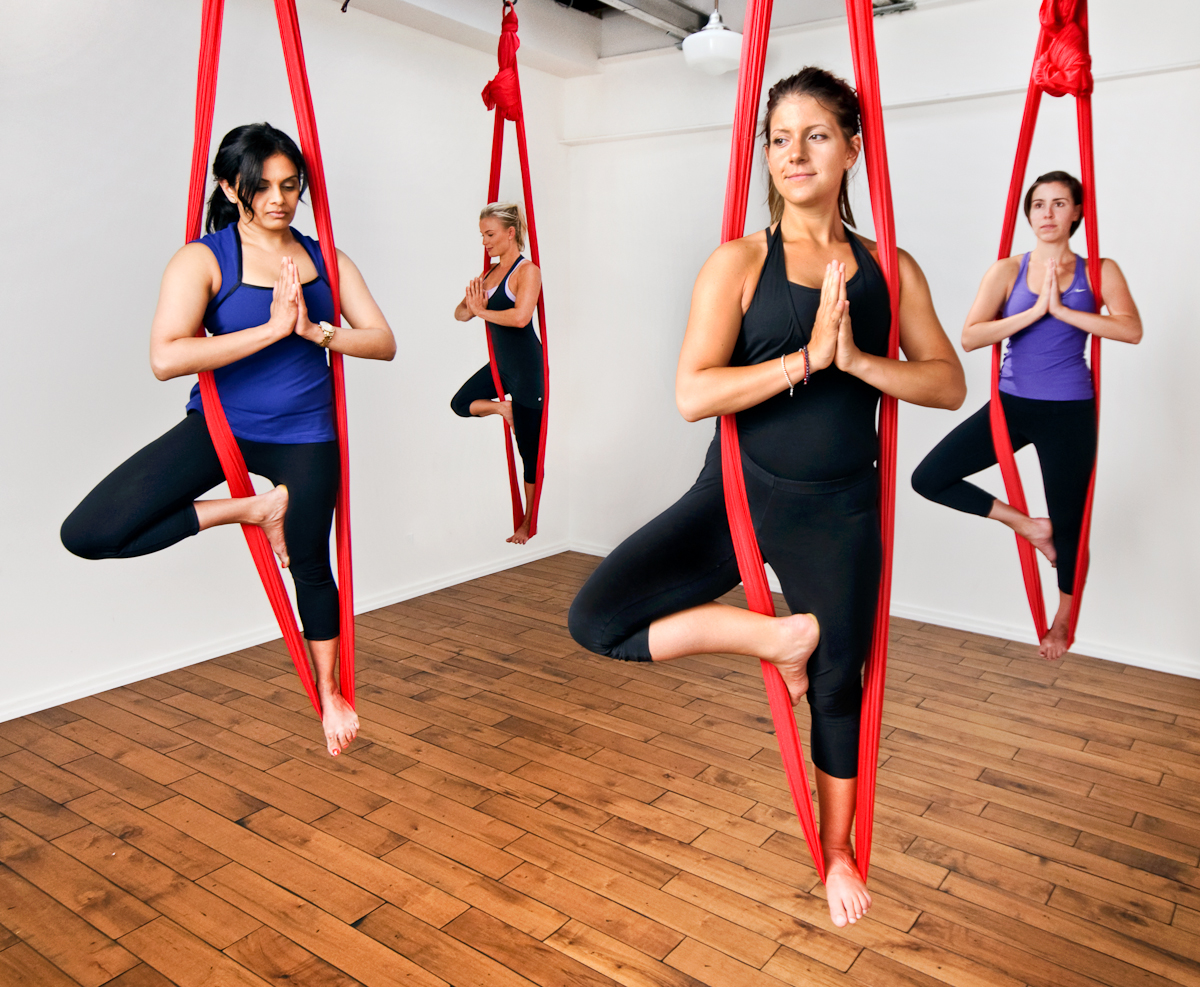 Stephani Buchman Photography Aerial Yoga Anyone