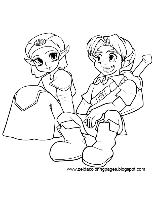 ganondorf coloring pages - photo#40