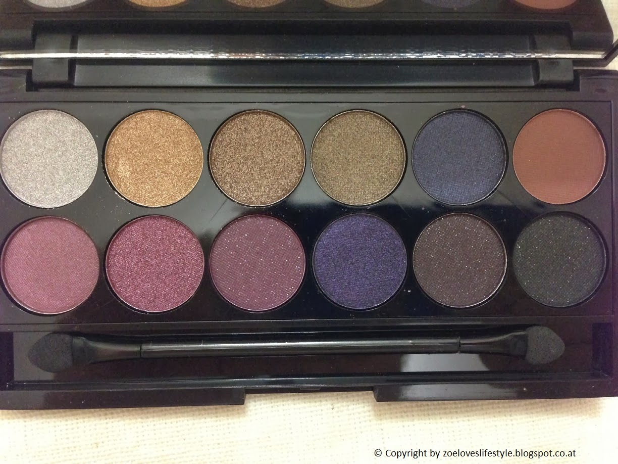 zoe loves lifestyle sleek idivine palette vintage romance swatch und review. Black Bedroom Furniture Sets. Home Design Ideas