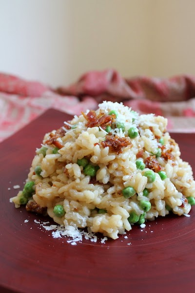 Food Lust People Love: Pea and Bacon Risotto plus Easy Gourmet # ...