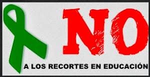 24 OCTUBRE: NO A LO RECORTES EN EDUCACIÓN