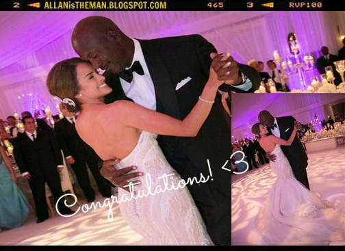 Michael Jordan Married Yvette Prieto