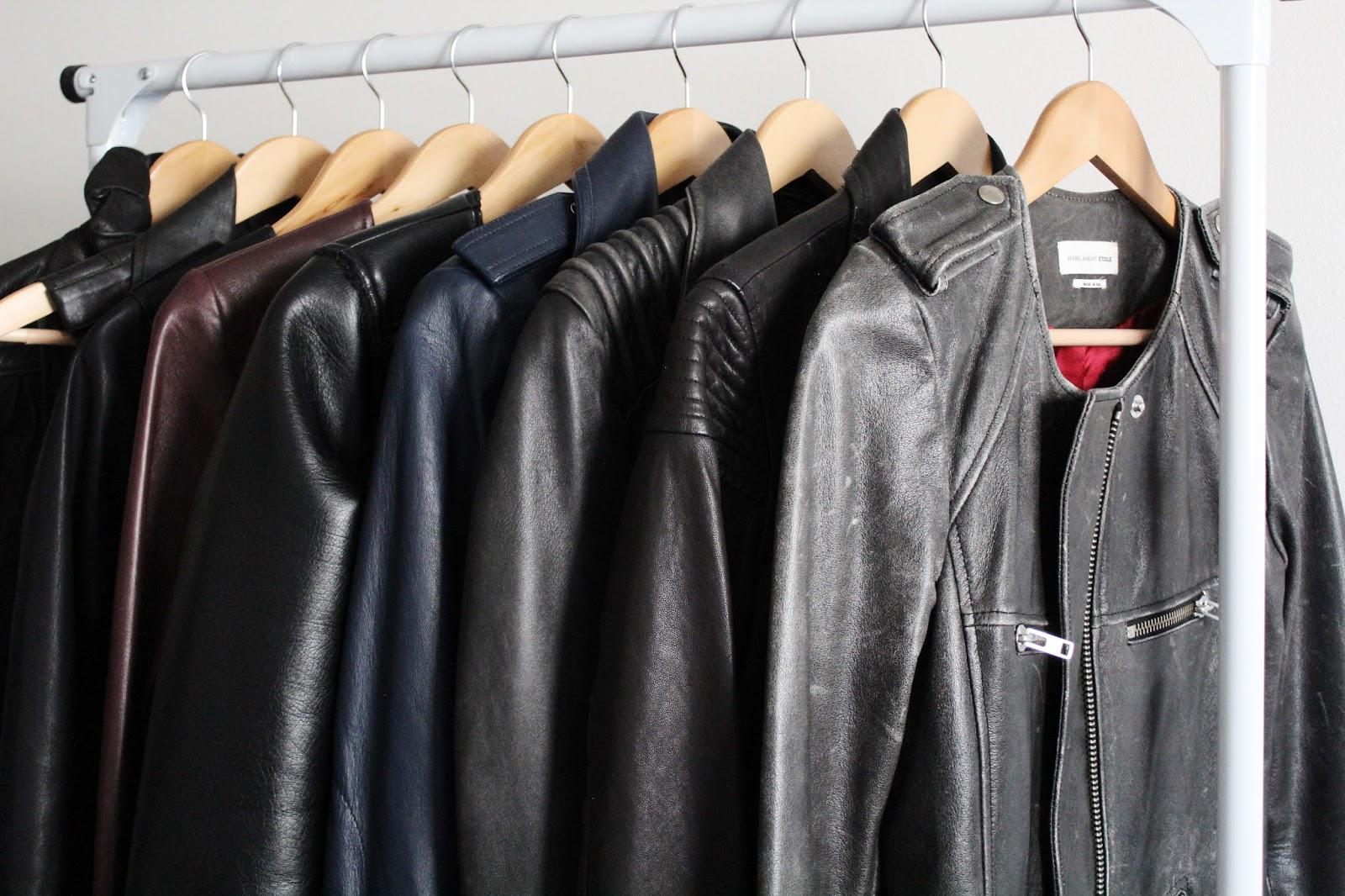 Leather jacket catalog