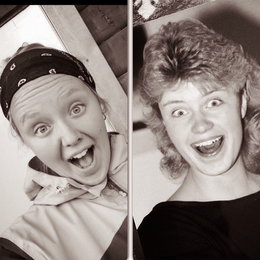Me & Mom same age