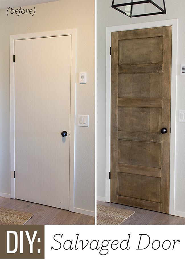 Gentil Add Molding To Basic Doors