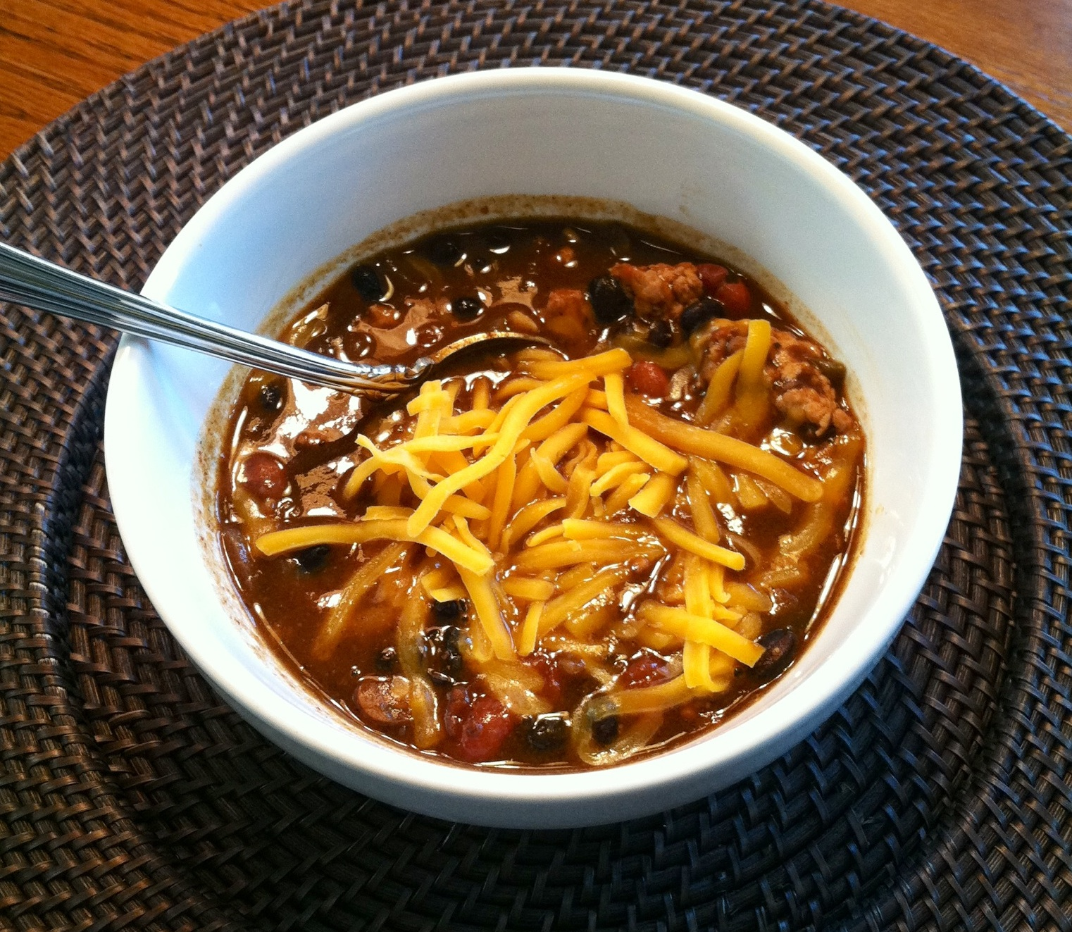 KATIE MADE IT: Home Cookin' Made Easier: Terrific Turkey Chili