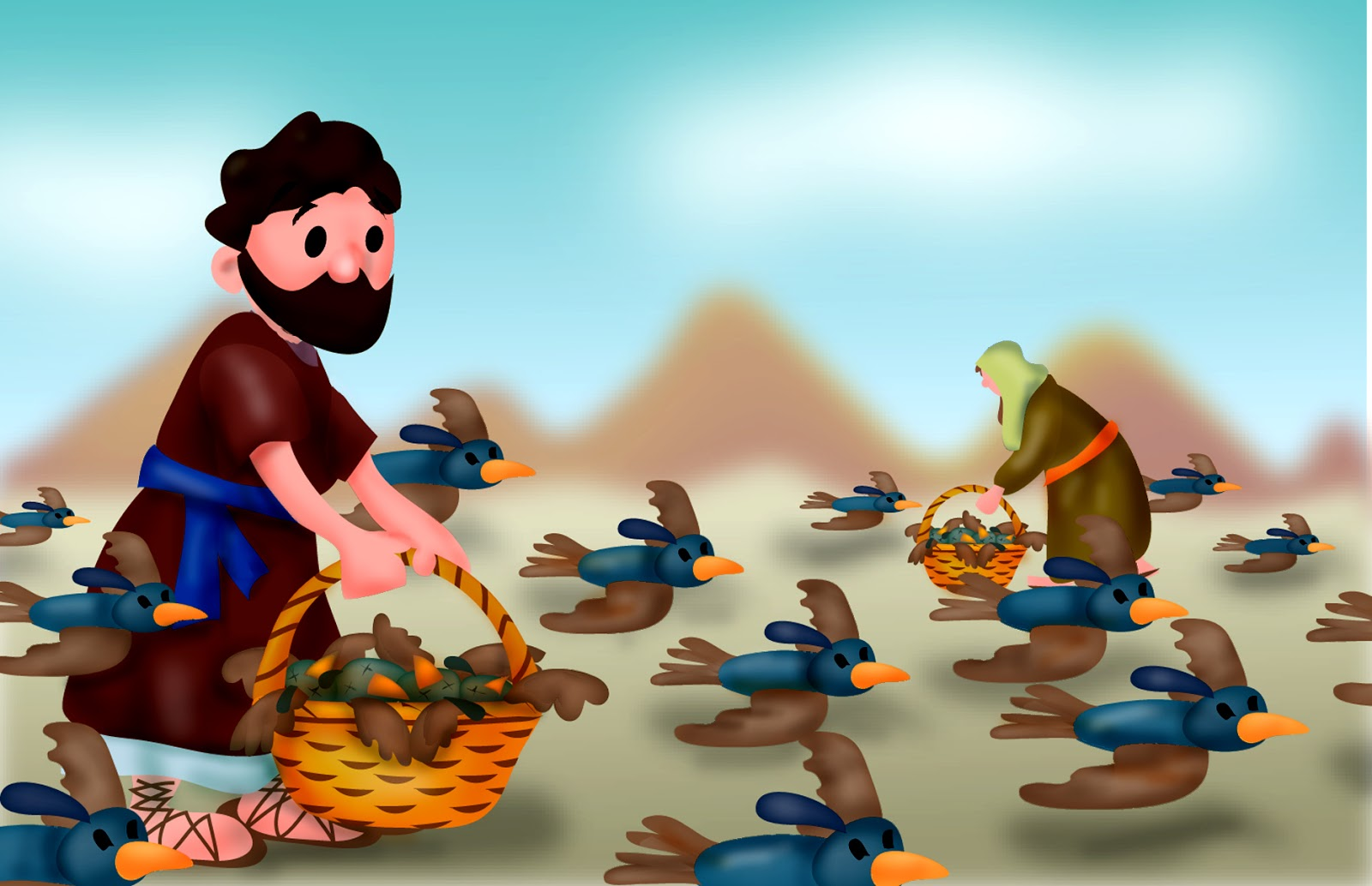 Mr Biblehead: The Israelites Get Tired of Manna (Numbers12)
