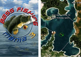 SAMSUNG MONTE: Bass Fishing Mania 3 - Touchscreen 240x400 (Fullscreen)