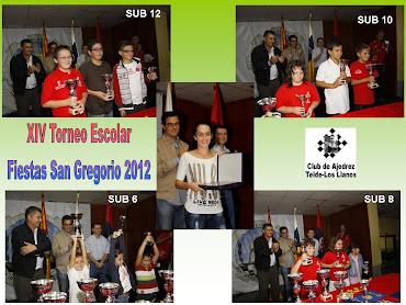 14º Torneo Escolar Fiestas San Gregorio 2012