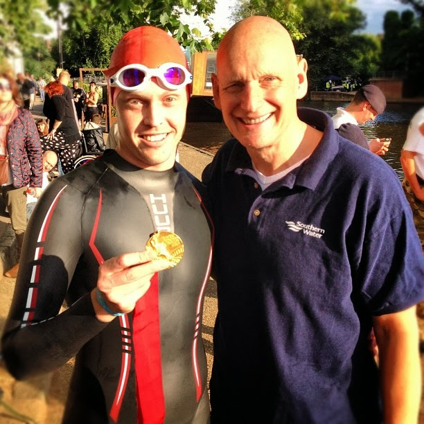 Olympic medway swim 3rd