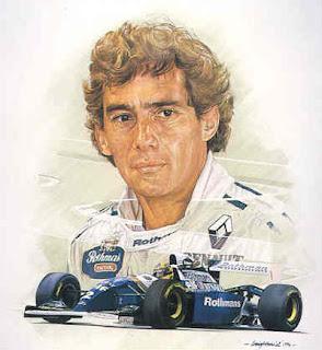 Ayrton Senna o mito