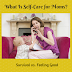 What is Self-Care for Moms?