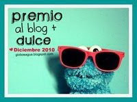 PREMIO AL BLOG MAS DULCE!