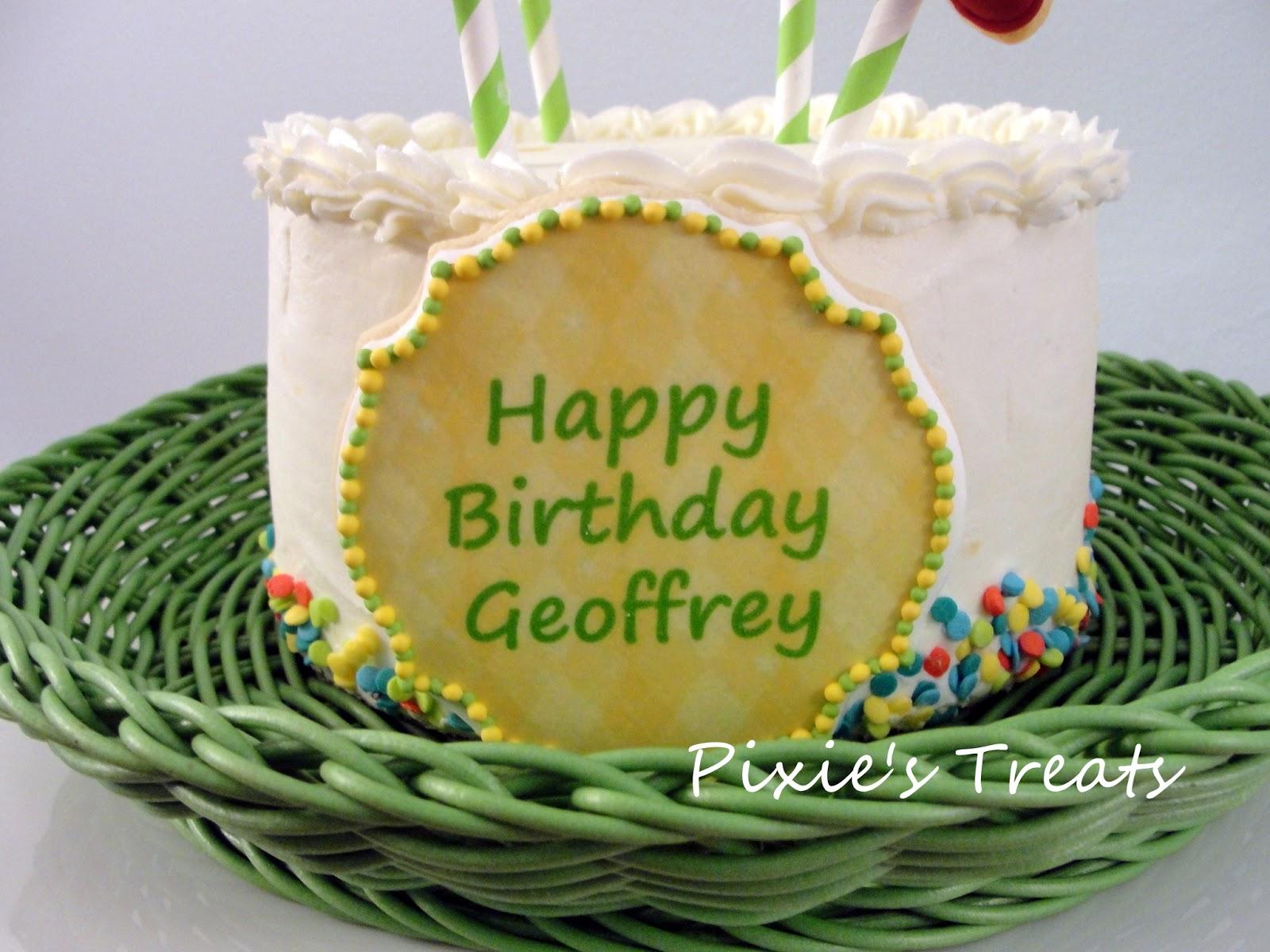 Geoff Birthday Cake