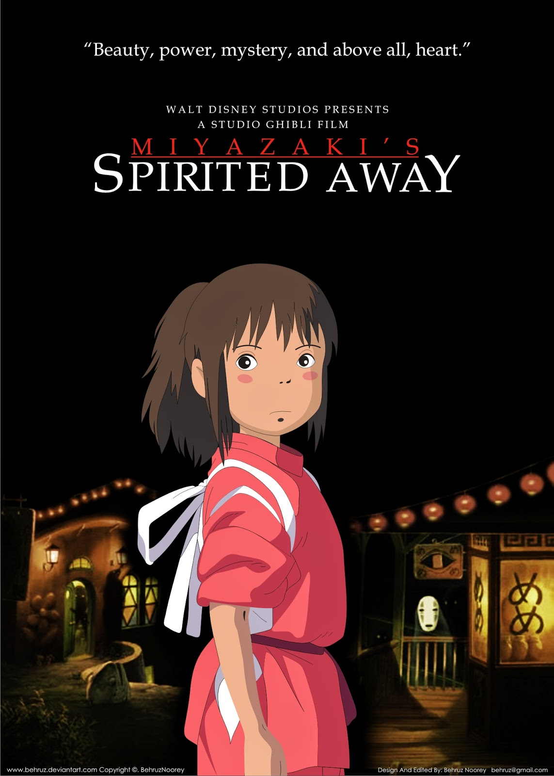 foreign film submission spirited away essay