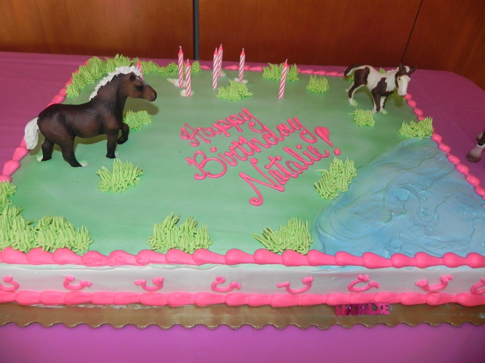 Red Horse Cake Design : Shady Tree Diary: {Horse Birthday Party}