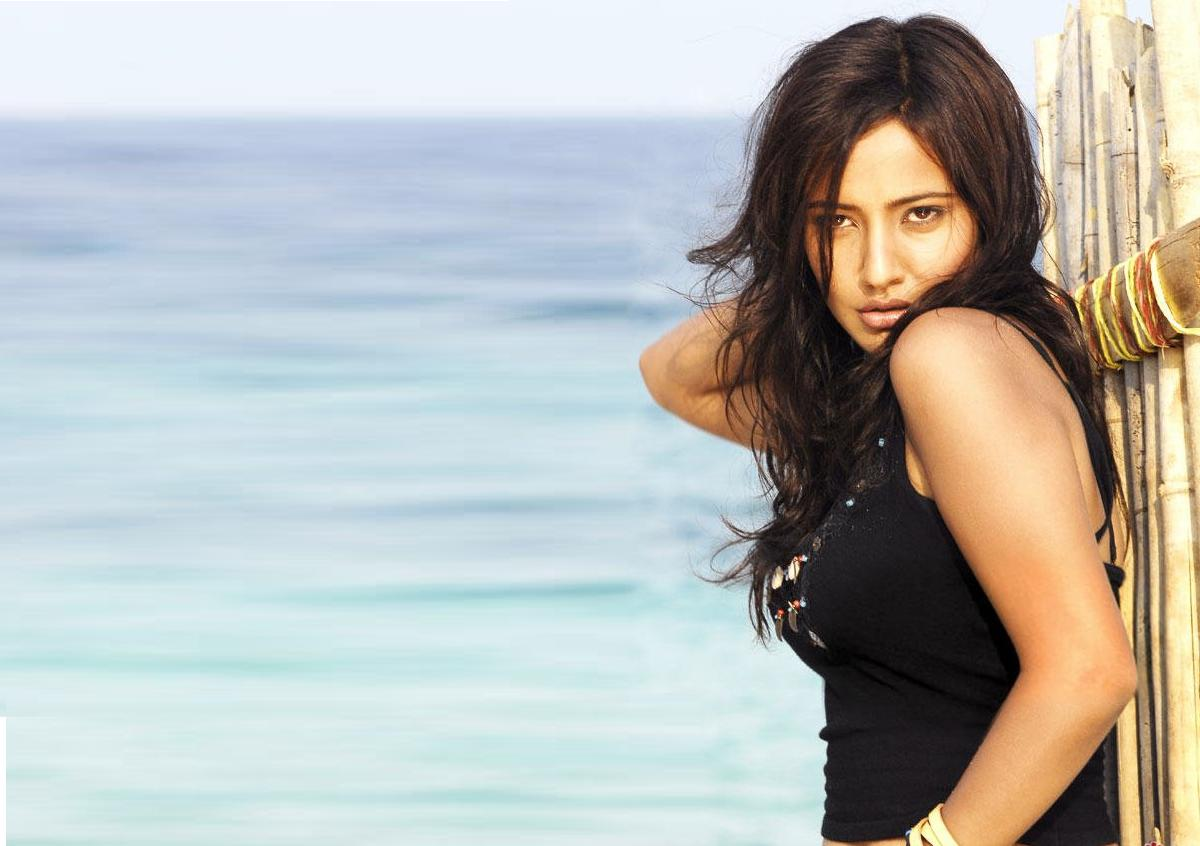 neha sharma beach image