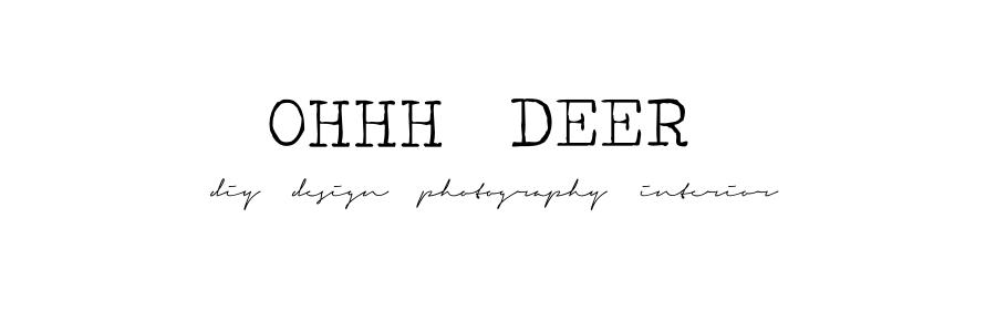 Ohhh, Deer!