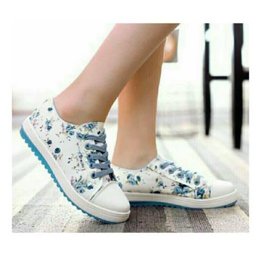 Floral Sneakers