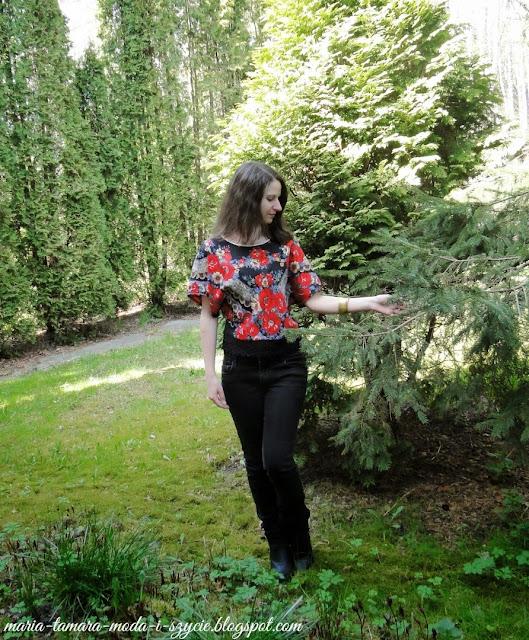 topy na lato w kwiaty