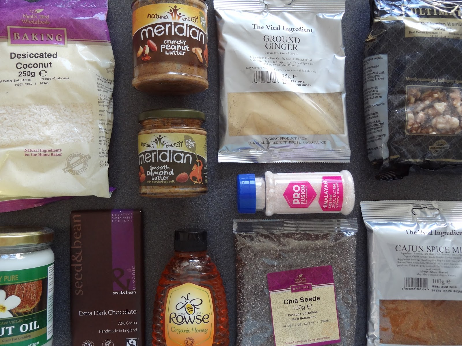 Holland and Barrett Healthy Lunches Meal Prep Ingredients