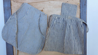 Vintage Homespun Amish - Doll Aprons - Available