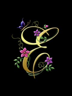 Letter e stylish wallpapers backgrounds video