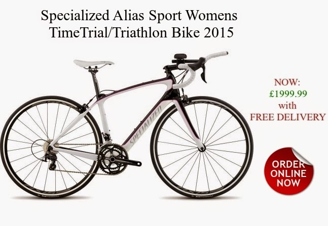 2015 Specialized Alias Sport TimeTrial/Triathlon Bike for Womens