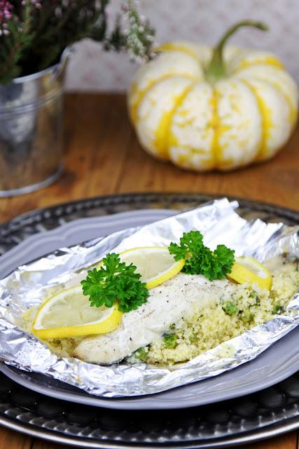 ryba, ryba pieczona, ryba z cytryna,