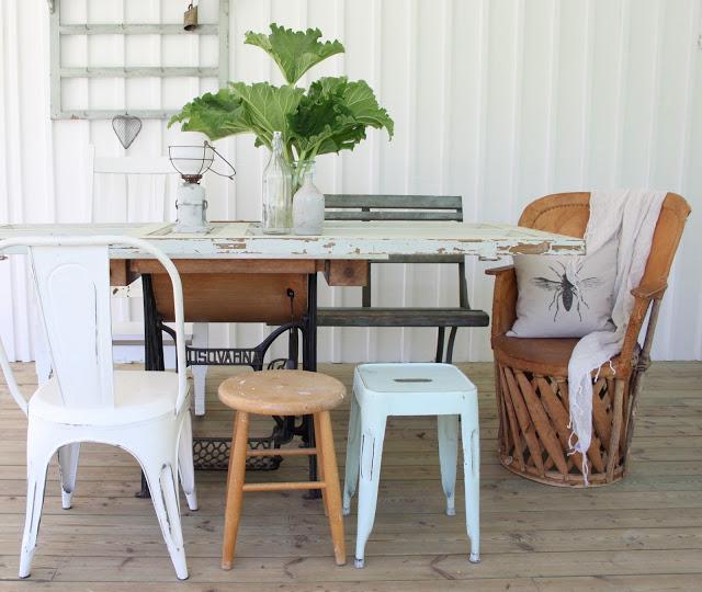 Mitt gröna lilla rum: diy  skapa ett eget bord & inred lantligt pÅ ...
