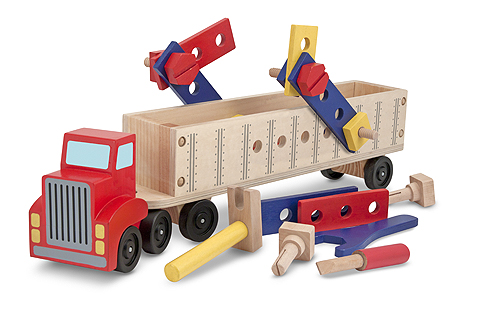 Melissa & Doug Big Rig Building Truck