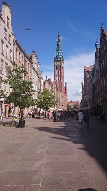 The long street of Gdansk