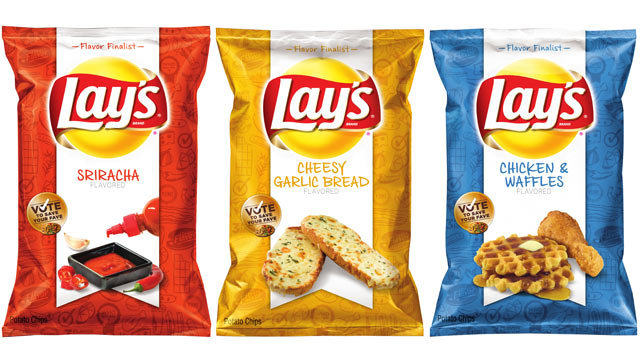 Lays Hot Dog Flavored Chips