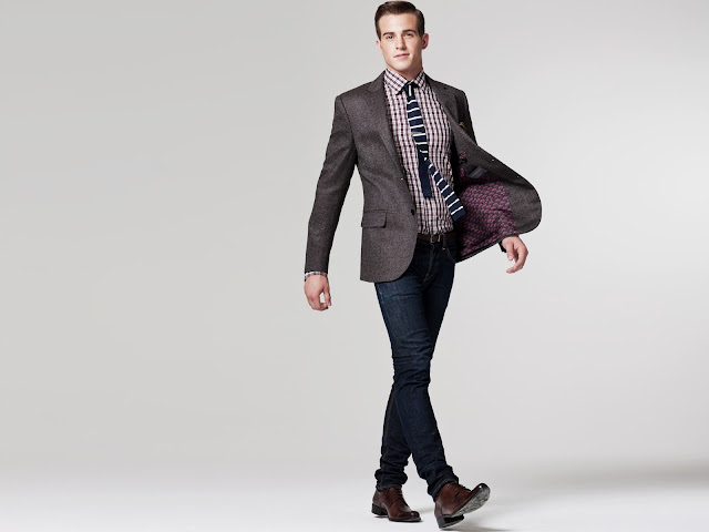 Indochino Bruno Brown Tweed Blazer 249$