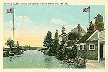 Vieja postal de las islas Zavikon