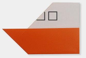 Hướng dẫn cách gấp đầu Tàu Thủy bằng giấy đơn giản - Xếp hình Origami với Video clip