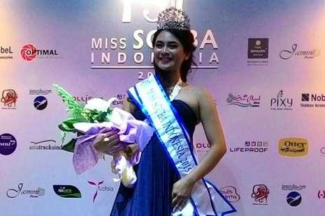 Nadhilah Dhina Terpilih Miss Scuba Indonesia 2015