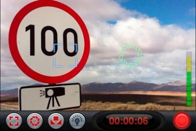 Schermata di iPhone con installato Filmic Pro
