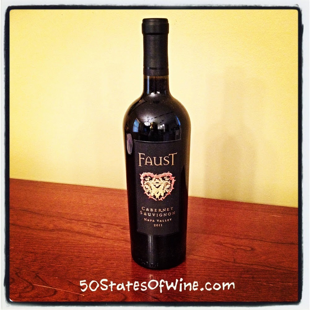 Faust Winery Cabernet Sauvignon 2011